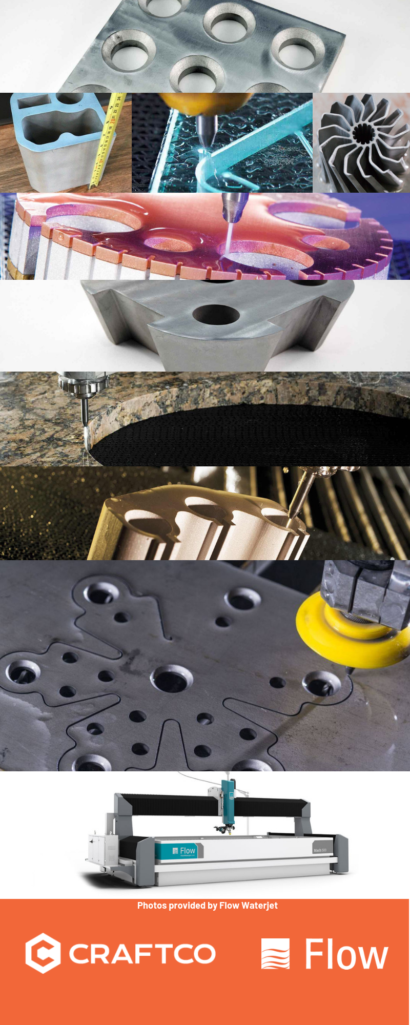CRAFTCO'S WATERJET CUTTING SERVICES - Craftco